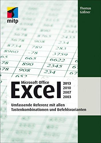 Excel - Die professionelle Referenz (mitp Anwendungen) eBook: Thomas ...