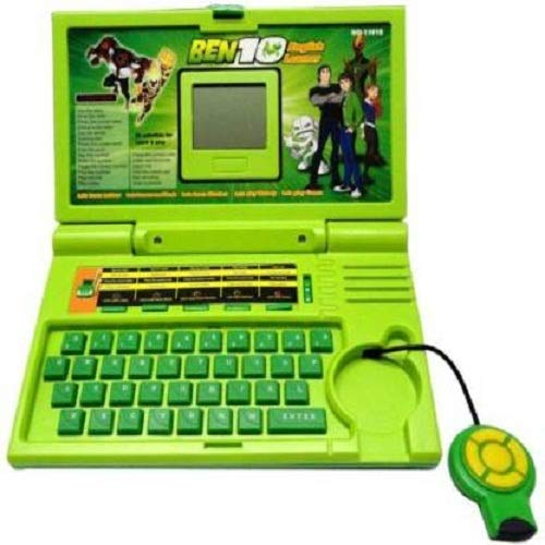OBLETTER TRADE 20 Activities & Games Fun Laptop Notebook Computer Toy for Kids