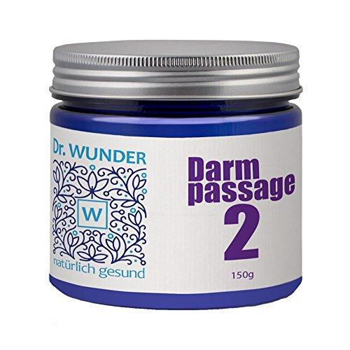 Dr. Wunder Darmpassagepulver 2 150g: geschmackloses Abführmittel zur Unterstützung der natürlichen Darmfunktion || kein Gewöhneffekt || bei Verstopfung/Obstipation ||zur