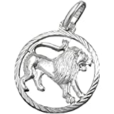 Pendentif, zodiaque lion Argent 925