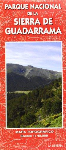 Mapa Parque Nacional de la Sierra de Guadarrama por Ediciones La Librería