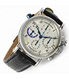 CHRONOSWISS Uhr TORA Chronograph DUAL TIME GMT CH-7423