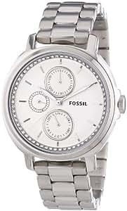 Fossil - ES3355 - Montre Femme - Quartz Analogique - Aiguilles lumineuses - Bracelet Acier Inoxydable Argent