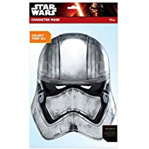 Star Wars - Capitan Phasma, máscara de disfraz, talla única ( Rubie'S Spain 32911)