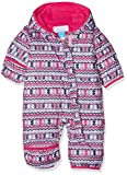 Columbia Schneeanzug für Kinder, Snuggly Bunny Bunting, Polyester, rosa (rosewater zigzag/cactus pink), Gr. 6/12 Monate, 1516331