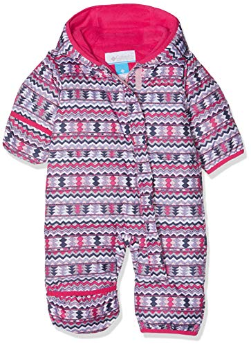 Columbia Schneeanzug für Kinder, Snuggly Bunny Bunting, Polyester, rosa (rosewater zigzag/cactus pink), Gr. 18/24 Monate, 1516331