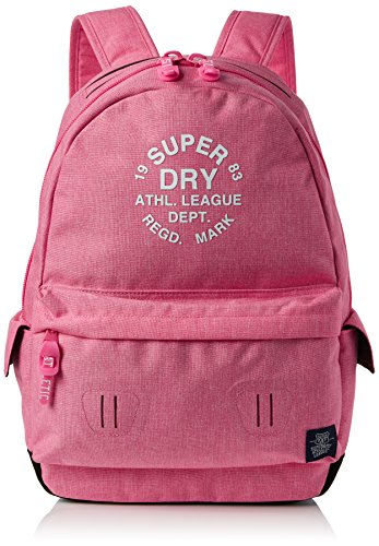 Superdry Athl League Montana, Bolsos mochila Mujer, Rosa (Raspberry Pink), 30.0x45.0x13.0 cm (W x H L)