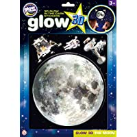 The Original Glowstars Company Glow-in-The-Dark 3D Moon Sticker - Room Decoration