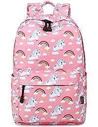 Abshoo Cute Lightweight Unicorn Backpacks Girls School Bags Teen Bookbags