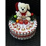 Torte aus Kinderschokolade, Geschenk zu Nikolaus, Weihnachten