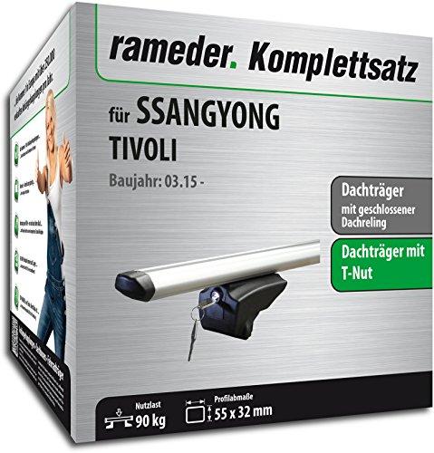 Rameder Komplettsatz, Dachträger Pick-Up für SsangYong Tivoli (111287-14015-44) -