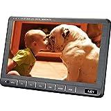 A&V 9 'portatile HD TV digitale Freeview con HDMI-Port, DVB-T / DVB-T2 H.264 / H.265 HD Tuner- aerea gratuita per la cucina, Village, Cavaran, Camper, Ospedale, Case di cura, Camera da letto… immagine