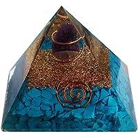 Türkis mit Orgonit Pyramide–Amethyst/Crytsal–65mm, für Heilung und Dekoration, mit Tasche preisvergleich bei billige-tabletten.eu