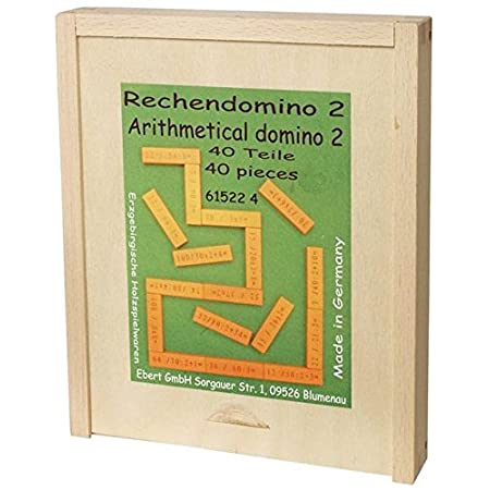 Bartl 107889 Rechendomino 2 Multiplikation und Division