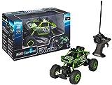 Revell Control 24486 - RC Car mit 4WD Allradantrieb, ferngesteuertes Auto, Crawler mit 40 MHz Pistolenfernsteuerung, Robustes Chassis, Griffige Geländereifen, große Achsverschränkung - XS Crusher