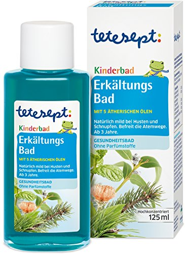 Tetesept Kinderbad Erkältungs Bad, 1er Pack (1 x 125 ml)