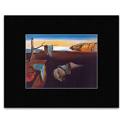 Persistence Of Memory Matted Mini Poster - 20.5x28cm ()