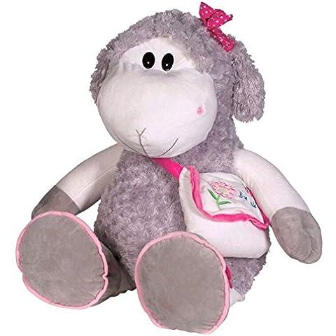 Peluche grande oveja Lola con bolsa (50 cms) [Juguete]