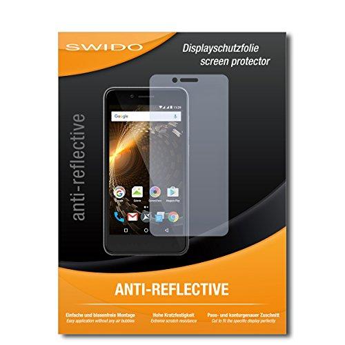 SWIDO Schutzfolie für Allview P6 Energy Mini [2 Stück] Anti-Reflex MATT Entspiegelnd, Hoher Härtegrad, Schutz vor Kratzer/Bildschirmschutz, Bildschirmschutzfolie, Panzerglas-Folie