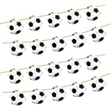 Football Theme Party Bunting - 12m Long Room Decoration