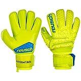 Reusch Fit Control S1 Roll Finger - Guanti da Portiere da Uomo, Uomo, 3970237, Lime/Safety Yellow, 11