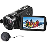 SEREE Camcorder Full HD 1080P 24.0 MP Digital Camera Portable Video Recording With Touch Screen