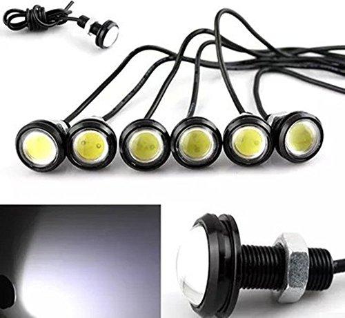 Set weiß LED Boot Plug Licht Garboard Messing Ablauf 3/10,2cm NPT Marine Unterwasser Fische (Boot-plug-licht)