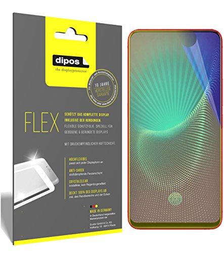 dipos I 3X Schutzfolie 100% passend für Vivo NEX S Folie (Vollständige Bildschirmabdeckung) Bildschirmschutzfolie