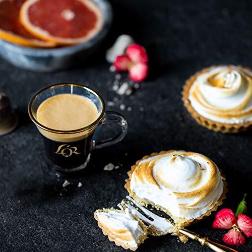 L'OR Espresso Café Espresso paquete de amante - Nespresso® * Cápsulas de café de aluminio compatibles - 12