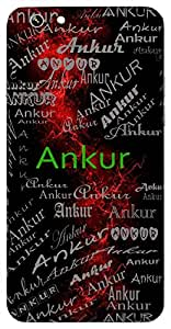 Ankur (Sprout) Name & Sign Printed All over customize & Personalized!! Protective back cover for your Smart Phone : Moto X-STYLE
