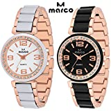 MARCO jewels ladies combo 243 gold Analo...