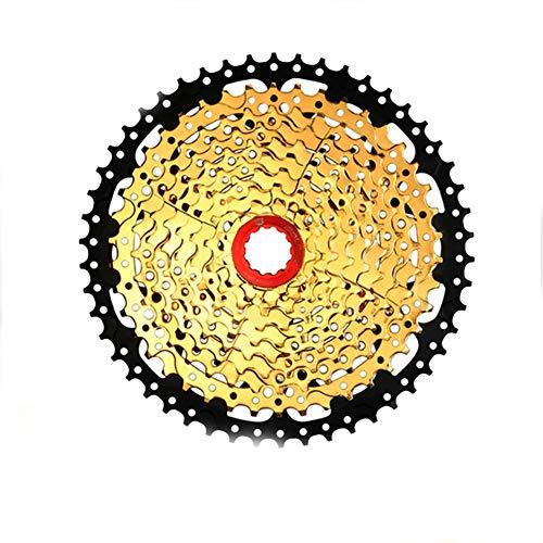 LYzpf Fahrrad Kassette Schwungrad Mountainbike Freilauf Bike Schraubkranz Kettenrad Ersatzzubehör 10 Speed 11-50T Gear Teile (Shimano Kassette 10-fach Mtb)