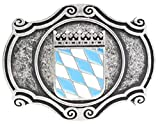 Gürtelschließe Wappen Bayern 4,0 cm