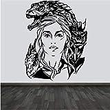 Sshssh Neue Wandkunst Aufkleber Aufkleber Game Of Thrones Vinyl Home Decor Für Wohnzimmer Tv Sofa Hintergrund Dekoration 57 * 73 Cm