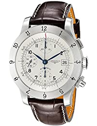 Longines Heritage Automatic Chronograph Stainless Steel Mens Strap Watch Calendar L2.741.4.73.2