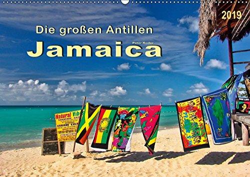 Die großen Antillen - Jamaica (Wandkalender 2019 DIN A2 quer): Tropische Insel in der Karibik mit über 300 Stränden. (Monatskalender, 14 Seiten ) (CALVENDO Orte) (Die Korallen Insel)