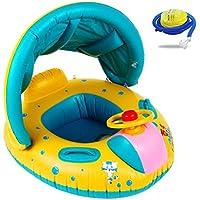 Kyerivs Flotador para bebé,6-36 Meses BebéFflotador de Seguridad Anillo de Natación Bebé