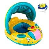 Best Los flotadores de natación para bebés - Kyerivs Flotador para bebé,6-36 Meses BebéFflotador de Seguridad Review