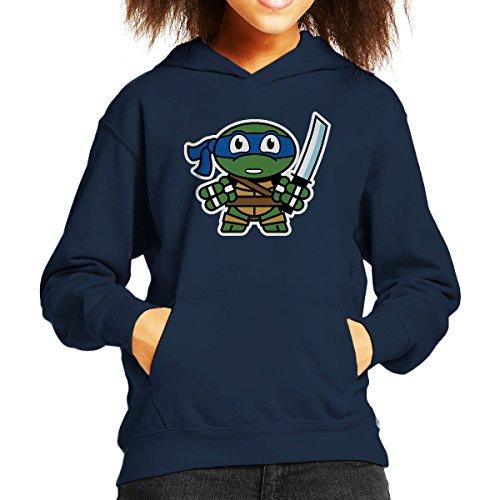 Mitesized Leonardo Teenage Mutant Ninja Turtles Kid's Hooded (Ninja Turtles Für Kapuzenpullover Jungen Mutant Teenage)