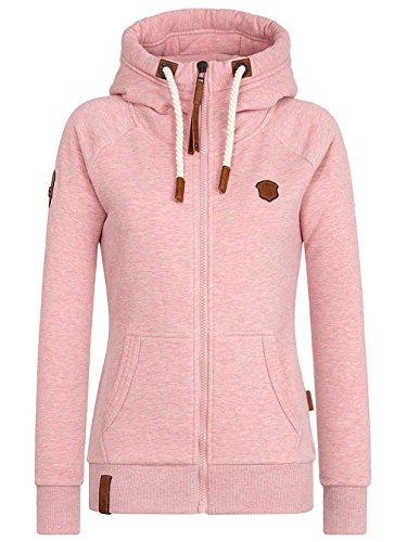Naketano Female Zipped Jacket Brazzo sm-pink-melange