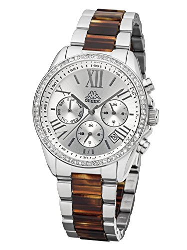 kappa-womens-watch-with-metal-band-date-day-gmt-kp-cyan-1413l