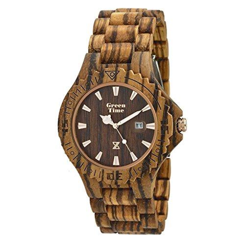 Uhr nur Zeit Herren Green Time nur Zeit Trendy Cod. zw016d