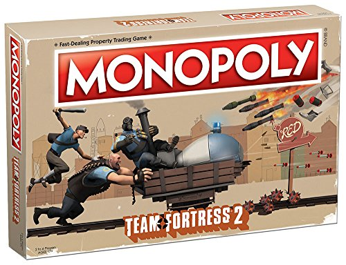 Team Fortress 2 Monopoly Board Game -
