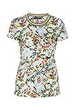 HALLHUBER T-Shirt mit Asia-Print gerade geschnitten multicolor, XL