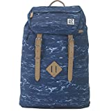 The Pack Society The Premium Rugzak Blue Waves Allover