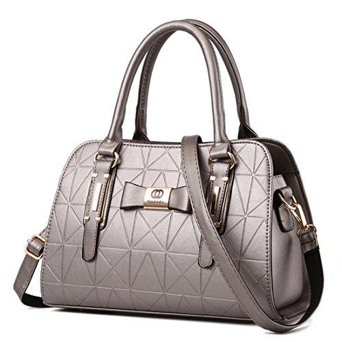 I nuovi borsa di cuoio delle signore borsa tracolla borsa del progettista grandi donne borsa a tracolla Borse a mano, vendendo a buon mercato!(DFMP07) D