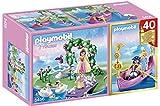 Playmobil Princesas - Compact set aniversario: isla de la princesa y góndola romántica (5456)