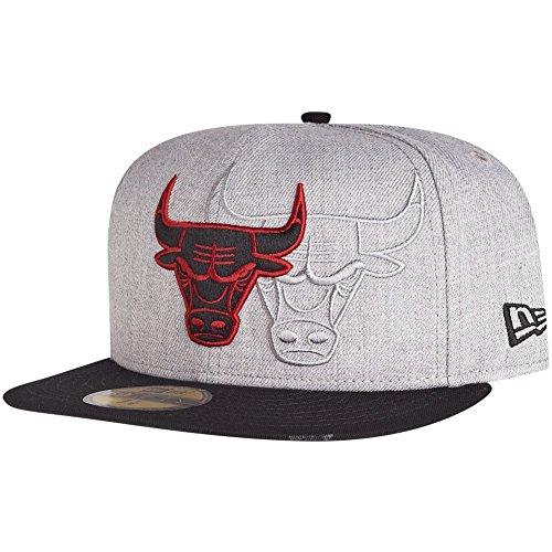 New Era 59Fifty Cap - SCREENING Chicago Bulls grau - 7 1/2 (Port Chicago)