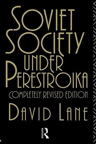 Soviet Society Under Perestroika (Soviet Studies)