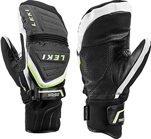 Leki Race Coach C-Tech S Mitten Handschuhe (schwarz/weiß), 8.5
